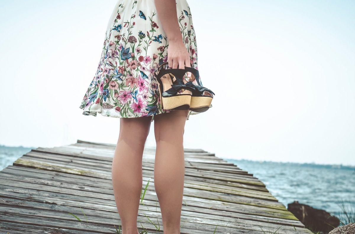chaussures à plateforme tendance
