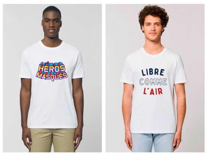 tshirt solidaire jules