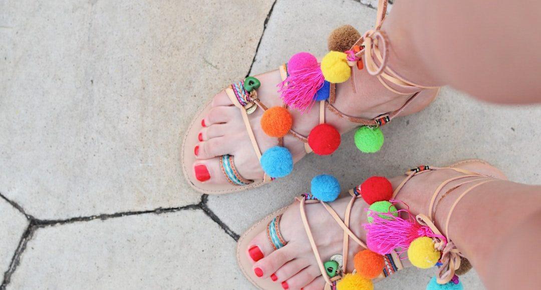 sandales spartiates-gladiateur
