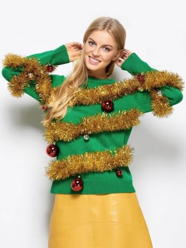 pull Noël lumineux