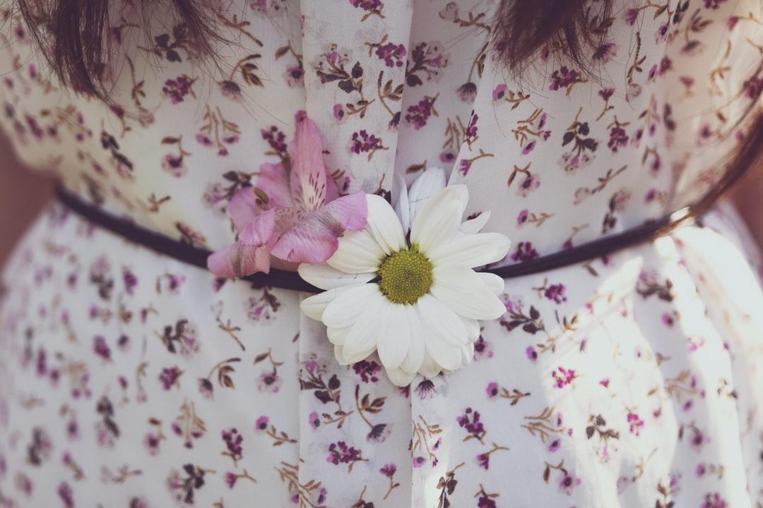 robe fleurie tendance